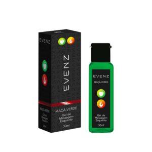 Gel Térmico de Massagem que Aquece Maça Verde 30ML